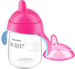 Акция на Чашка-непроливайка Philips AVENT 340 мл (SCF755/00_pink) от Rozetka