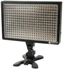 Акция на Накамерный свет PowerPlant LED 336A (LED336A) от Rozetka