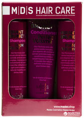 Косметический набор Mades Cosmetics по уходу за темными волосами Блеск и Объем (8710444240789) от Rozetka