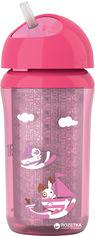 Термочашка Philips AVENT с трубочкой 260 мл 12 мес+ (SCF766/00_pink) от Rozetka