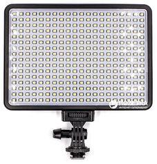 Акция на Накамерный свет PowerPlant LED 320l (LED320I) от Rozetka