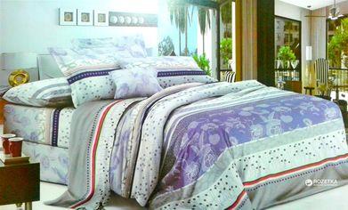 Комплект постельного белья Novita Сатин 103177 180х215 Combi (ROZ6205013108) от Rozetka