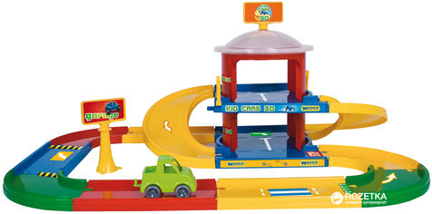 Гараж 2 этажа Kid Cars 3D Wader (53020) от Rozetka
