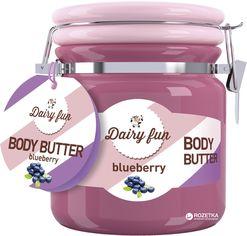 Масло для тела Delia cosmetics Dairy Fun с ароматом спелой черники 300 г (5901350448052) от Rozetka