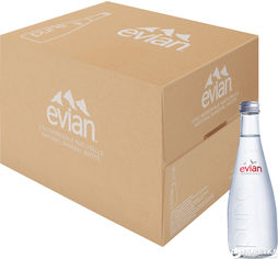 Упаковка минеральной негазированной воды Evian 0.33 л х 20 бутылок (3068320103631_3068320103723) от Rozetka