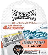 Сменные картриджи для бритья Wilkinson Sword Quattro Core Motion 3 шт (4027800109623) от Rozetka