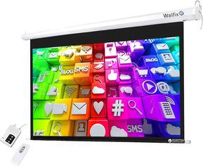 "Walfix TLS-7 моторизированный настенный экран 92"" (16:9) 203х114 см от Rozetka"
