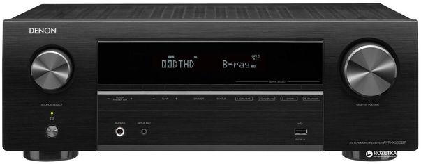 AV-ресивер Denon AVR-X550BT Black (235016) от Rozetka