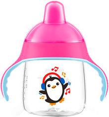 Чашка-непроливайка Philips AVENT cо специальным носиком 12 мес+ 260 мл Розовая (SCF753/07) от Rozetka