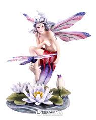 Статуэтка Veronese Юная бабочка на листке (73243) от Rozetka