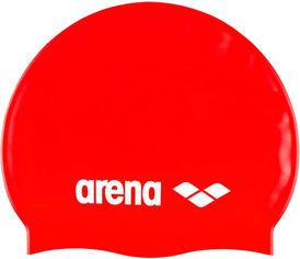 Шапочка для плавания Arena Classic Silicone Jr 91670-044 Red-white (3468335686066) от Rozetka