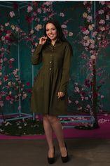 Платье ELFBERG 5118 54 Хаки (2000000347950) от Rozetka