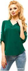 Блузка ELFBERG 178 46 Темно-зеленая (2000000273501) от Rozetka