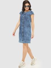 Джинсовое платье Mila Nova Ф-56 52 Синее (2000000011905) от Rozetka