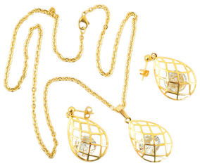 Комплект Traum 4252-04 Золотистый от Rozetka
