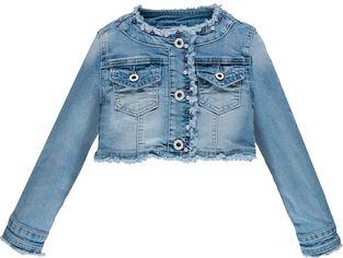 Джинсовая куртка Brums 191BGAA003-149 140 см Синяя (8053506209554) от Rozetka