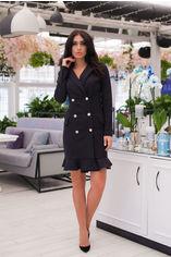 Платье ELFBERG 351 46 Черное (2000000344782) от Rozetka