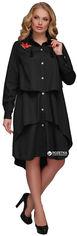 Платье VLAVI 118003 Троя 52-54 Черное от Rozetka