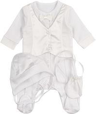 Комплект для крещения ЛяЛя 8ТК06 (2-125) 68 см Белый (810062125681) от Rozetka