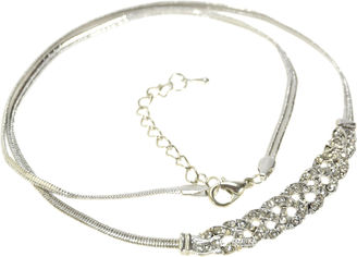 Ожерелье Traum 4204-70 Серебристое от Rozetka