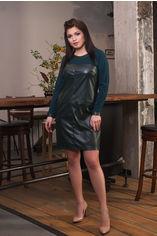 Платье ELFBERG 5084 56 Темно-зеленое (2000000321219) от Rozetka