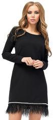 Платье Carica КР-10181-8 M Черное (2000002254768) от Rozetka