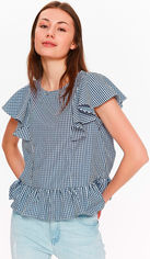 Блузка Troll TBW0108GR S Синяя от Rozetka