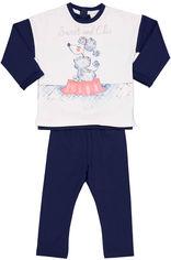 Костюм (футболка с длинными рукавами + лосины) Birba 999690260075G 12M от Rozetka