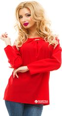 Блузка ELFBERG 132 46 Красная (2000000235844) от Rozetka