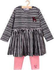 Костюм (платье + лосины) 5.10.15 5P3603 74 см (5902361531788) от Rozetka