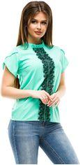Блузка ELFBERG 300 48 Мятная (2000000298115) от Rozetka