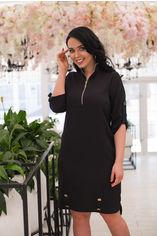 Платье ELFBERG 5124 50 Черное (2000000342832) от Rozetka