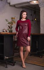 Платье ELFBERG 5084 52 Бордовое (2000000321158) от Rozetka