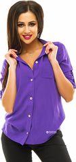 Акция на Рубашка ELFBERG 097 42 Фиолетовая (2000000252728) от Rozetka