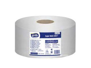 Акция на Туалетная бумага Grite Super Maxi 1111 отрывов 2 слоя 6 рулонов (4770023181715) от Rozetka