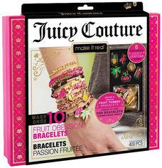 Акция на Набор для создания шарм-браслетов Make it Real Juicy Couture Фруктовая страсть (MR4403) (695929044039) от Rozetka