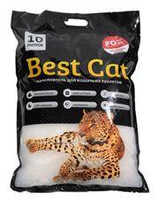 Акция на Наполнитель для кошачьего туалета Best Cat White Силикагелевый впитывающий 4 кг (10 л) (SGL007/6907396109611) от Rozetka