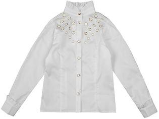 Акция на Блузка Zironka Textile Pearl 26-9032-1 ШФ 164 см Айвори (ROZ6205084095) от Rozetka