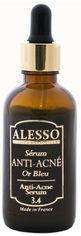 Акция на Сыворотка для лица Alesso 3.4 Голубое золото анти-акне для жирной, комбинированной, проблемной кожи 50 мл (3273629364250) от Rozetka