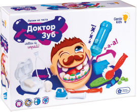 Набор для детской лепки Genio Kids Доктор Зуб (TA1041) (4814723003851) от Rozetka