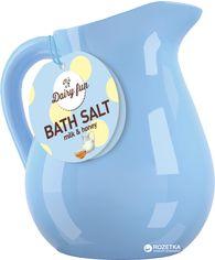 Aроматическая соль для ванны Delia cosmetics Dairy Fun Молоко и мед 500 г (5901350447994) от Rozetka