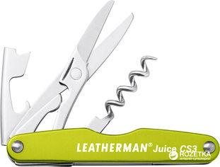 Мультитул Leatherman Juice CS3 - Cinnabar Green (832371) от Rozetka