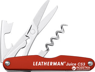 Мультитул Leatherman Juice CS3 - Cinnabar Red (832369) от Rozetka