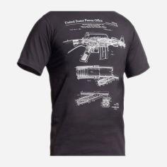 Акция на Футболка со светящимся рисунком P1G-Tac M16/AR15 Rifle Legend NightGlow Series UA281-29891-GT-M16-NG L Graphite (2000980467372) от Rozetka