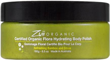 Скраб для тела увлажняющий Zuii Organic Бамбук и Цитрус 180 г (812144013149) от Rozetka