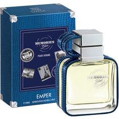 Акция на Туалетная вода для мужчин Emper Memories Blue 100 мл (MM32117) (6291103669322) от Rozetka