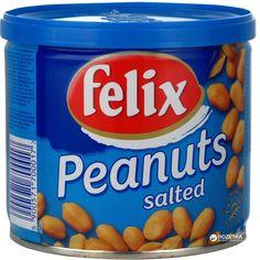 Упаковка арахиса Felix соленый ж/б 120 г х 12 шт (5900571770010) от Rozetka