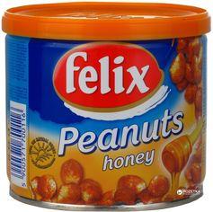 Упаковка арахиса Felix в меду ж/б 120 г х 12 шт (5900571770119) от Rozetka