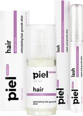 Комплекс для волос и ресниц Piel Cosmetics Восстановление и рост 50 мл + 15 мл (SP002) от Rozetka