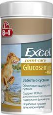 Акция на Хондропротектор 8in1 Excel Glucosamine с МСМ для собак таблетки 55 шт (4048422124290) от Rozetka